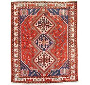 Link to 5' 4 x 6' 8 Shiraz Persian Square Rug