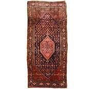 Link to 4' 9 x 10' 2 Hamedan Persian Runner Rug