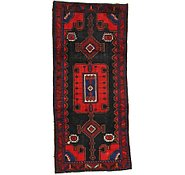 Link to 4' 5 x 9' 11 Hamedan Persian Runner Rug