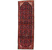 Link to 3' 4 x 10' Hossainabad Persian Runner Rug
