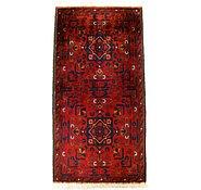 Link to 1' 8 x 3' 4 Khal Mohammadi Oriental Rug