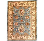 Link to 2' 10 x 3' 10 Peshawar Ziegler Oriental Rug