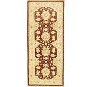 Link to 2' 5 x 5' 7 Peshawar Ziegler Oriental Runner Rug