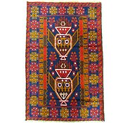 Link to 2' 9 x 4' 2 Balouch Persian Rug
