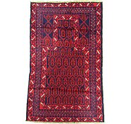 Link to 2' 11 x 4' 6 Balouch Persian Rug