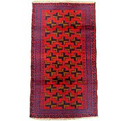 Link to 2' 8 x 4' 8 Balouch Persian Rug