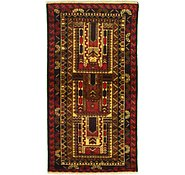 Link to 3' 3 x 6' 1 Balouch Persian Rug