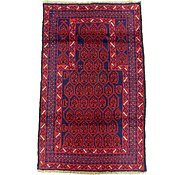 Link to 2' 11 x 4' 8 Balouch Persian Rug