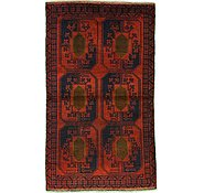 Link to 3' 7 x 6' 1 Balouch Persian Rug