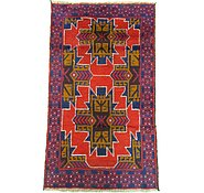Link to 2' 9 x 4' 8 Balouch Persian Rug