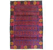 Link to 3' 1 x 4' 6 Balouch Persian Rug