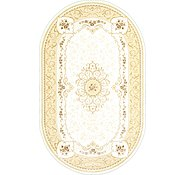 Link to 8' x 13' 2 Tabriz Design Oval Rug