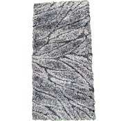 Link to 2' 3 x 4' 6 Textured Shag Rug