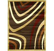 Link to 4' x 5' 3 Reproduction Gabbeh Rug