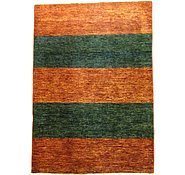 Link to 3' 4 x 4' 9 Striped Modern Ziegler Oriental Rug