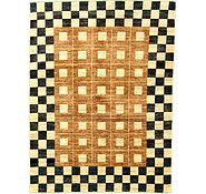 Link to 5' x 6' 7 Checkered Modern Ziegler Oriental Rug