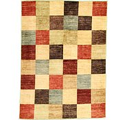 Link to 4' 10 x 6' 7 Checkered Modern Ziegler Oriental Rug