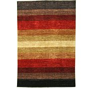 Link to 6' 8 x 9' 9 Striped Modern Ziegler Oriental Rug