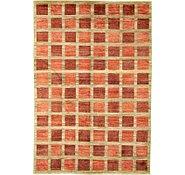 Link to 6' 5 x 9' 5 Checkered Modern Ziegler Oriental Rug