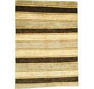 Link to 6' 6 x 9' Striped Modern Ziegler Oriental Rug