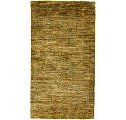 Link to 3' 5 x 6' 2 Abstract Modern Ziegler Oriental Rug