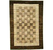 Link to 4' x 5' 11 Checkered Modern Ziegler Oriental Rug