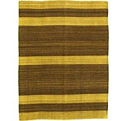 Link to 5' x 6' 8 Striped Modern Kilim Rug