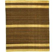 Link to 8' 4 x 9' 9 Striped Modern Kilim Rug