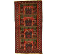 Link to 3' 5 x 6' 6 Balouch Persian Rug