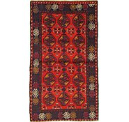 Link to 3' 6 x 6' 1 Balouch Persian Rug