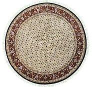 Link to 6' 6 x 6' 6 Tabriz Oriental Round Rug