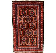 Link to 3' 6 x 5' 8 Balouch Persian Rug