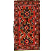 Link to 3' 3 x 6' 3 Balouch Persian Rug