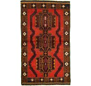 Link to 3' 5 x 5' 10 Balouch Persian Rug