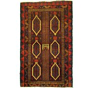 Link to 3' 5 x 5' 7 Balouch Persian Rug