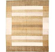 Link to 8' 3 x 10' Loribaft Gabbeh Oriental Rug