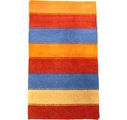 Link to 3' x 5' 2 Indo Tibet Rug