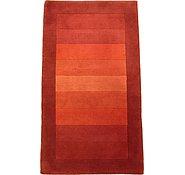 Link to 3' 1 x 5' 5 Indo Tibet Rug