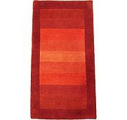 Link to 2' 10 x 5' 4 Indo Tibet Rug