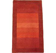 Link to 3' 1 x 5' 4 Indo Tibet Rug