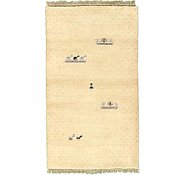 Link to 3' x 5' 4 Indo Gabbeh Rug