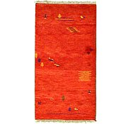 Link to 3' x 5' 3 Indo Gabbeh Rug