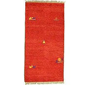 Link to 2' 8 x 5' 5 Indo Gabbeh Rug