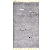 Link to 2' 11 x 5' 4 Indo Gabbeh Rug