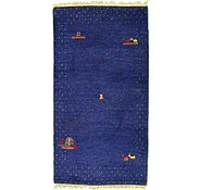 Link to 2' 11 x 5' 7 Indo Gabbeh Rug