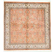 Link to 7' 1 x 7' 1 Kashmir Oriental Square Rug