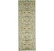Link to 2' 7 x 7' 6 Kashan Design Runner Rug