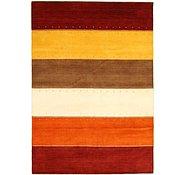 Link to 5' 6 x 7' 9 Loribaft Gabbeh Oriental Rug