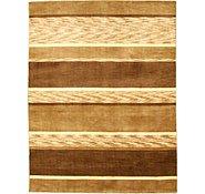 Link to 5' x 6' 5 Loribaft Gabbeh Oriental Rug