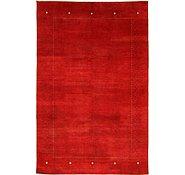 Link to 6' 5 x 9' 9 Loribaft Gabbeh Oriental Rug